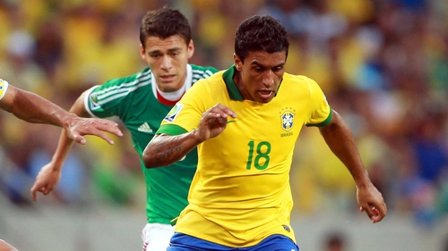 Paulinho: 'I will only do it after the Confederations Cup because it's hard to deal with all these things