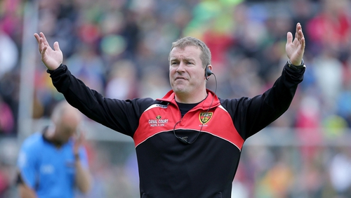 James McCartan has left his role of Down manager