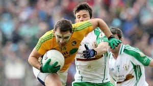 James Glancy gets away from David McGreevy