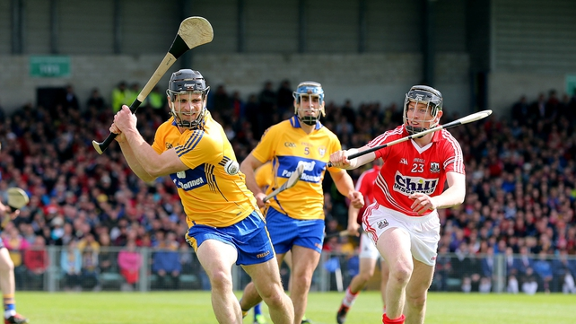 Clare only managed four points in the second half of their loss to Cork