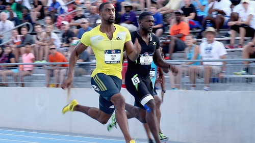 Tyson Gay has won the 100m and 200m at the United States National Outdoor Championships