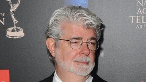 George Lucas wed his girlfriend of seven years over the weekend
