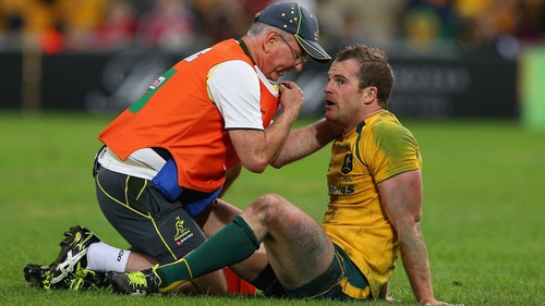 Pat McCabe will play no further part in the Australia-Lions Test series