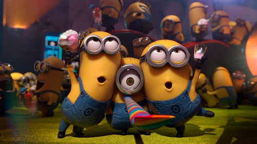 Despicable Me 2 has taken the Irish Box Office by storm