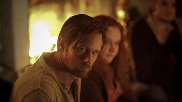Skarsgard puts in a good turn as collective leader Ben