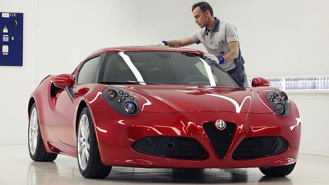 Alfa 4C success