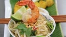 Mini Asian Street Food Buffet - Maia Dunphy serves up Pad Thai Noodles, Chicken Satay and Pork and Ginger Wontons on Celebrity MasterChef Ireland.