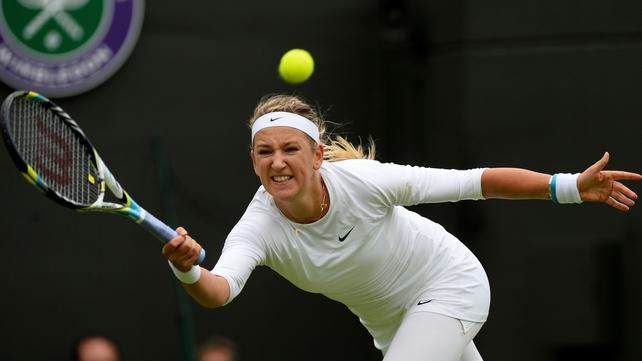 Victoria Azarenka overcame a nasty fall to beat Maria Joao Koehler
