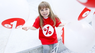 The 1% Difference campaign aims to double giving levels across the country