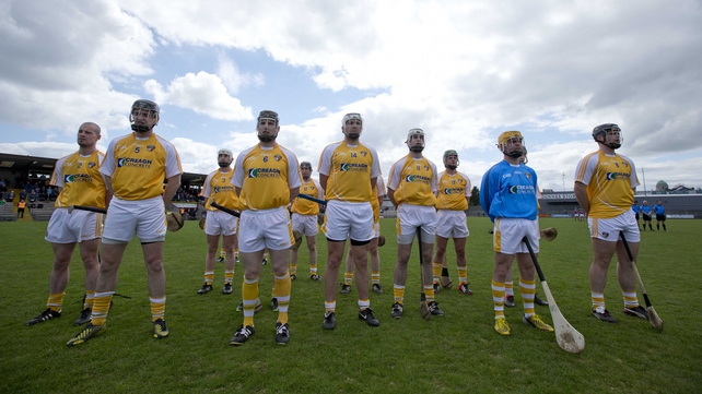 Antrim are out of this year's competitions