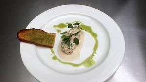 Clogherhead Crab Salad: MasterChef