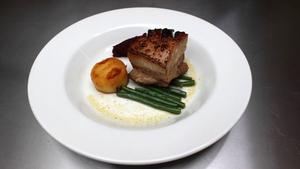 Lusk Cider Glazed Belly of Pork: MasterChef