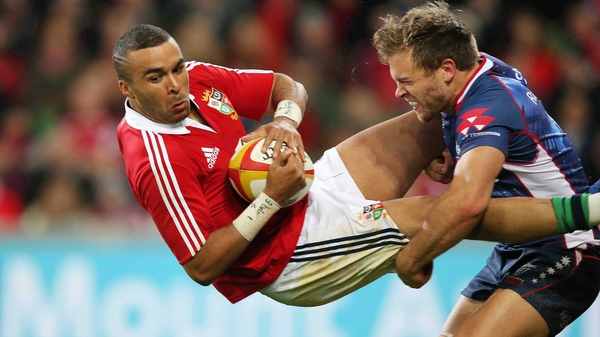 Lachlan Mitchell (r) has been citied for lifting Simon Zebo