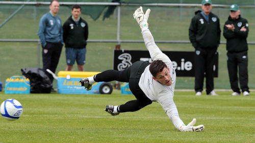 Republic of Ireland goalkeeper Keiren Westwood