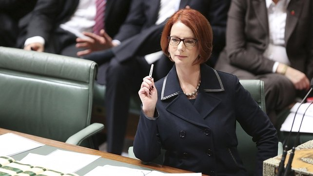 Julia Gillard had said she would retire from politics