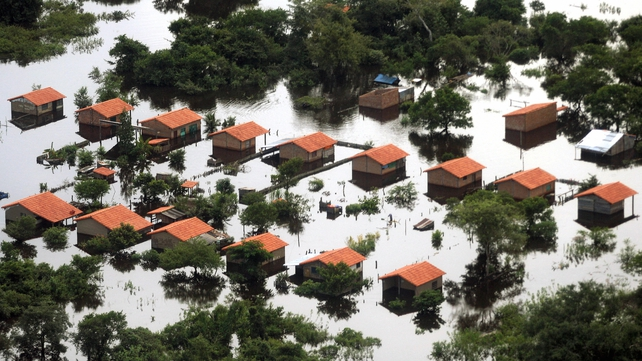 Flooding in the Bolivian town of Trinidad in 2007 was blamed on an El Nino system