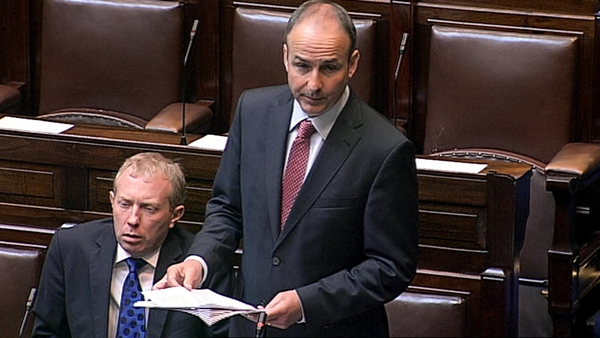 Micheál Martin said his party will take a unique step in allowing each member to vote with their conscience