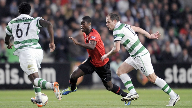 Victor Wanyama (l) and Anthony Stokes may not be team-mates for much longer