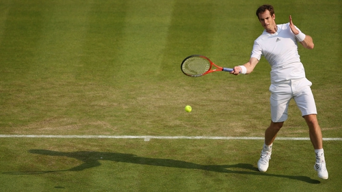 Scotland's Andy Murray remains on track for Sunday's final