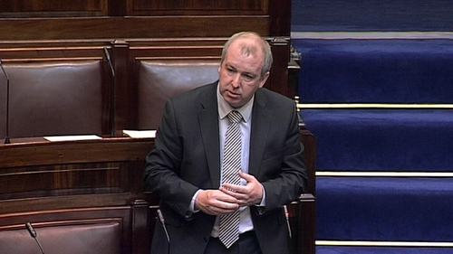Brian Walsh has resigned from Dáil Éireann with immediate effect