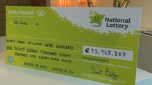 Irish Euromillions winner picks up €94m prize