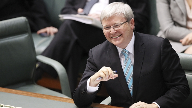 Kevin Rudd said his party can now take the fight to the opposition in the next election