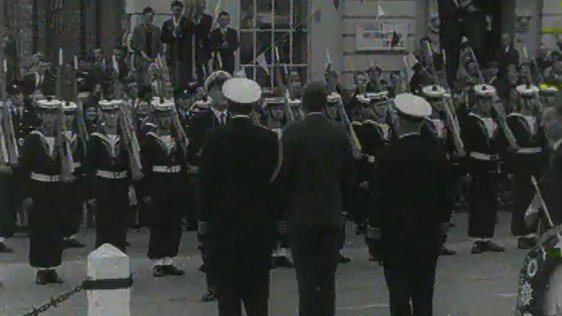 JFK Navy Guard of Honour, Wexford Town