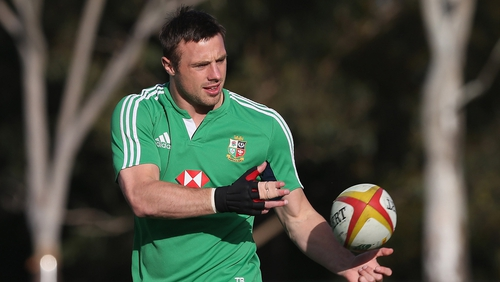 Tommy Bowe insists that Brian O'Driscoll is still a big influence in the Lions' dressing room