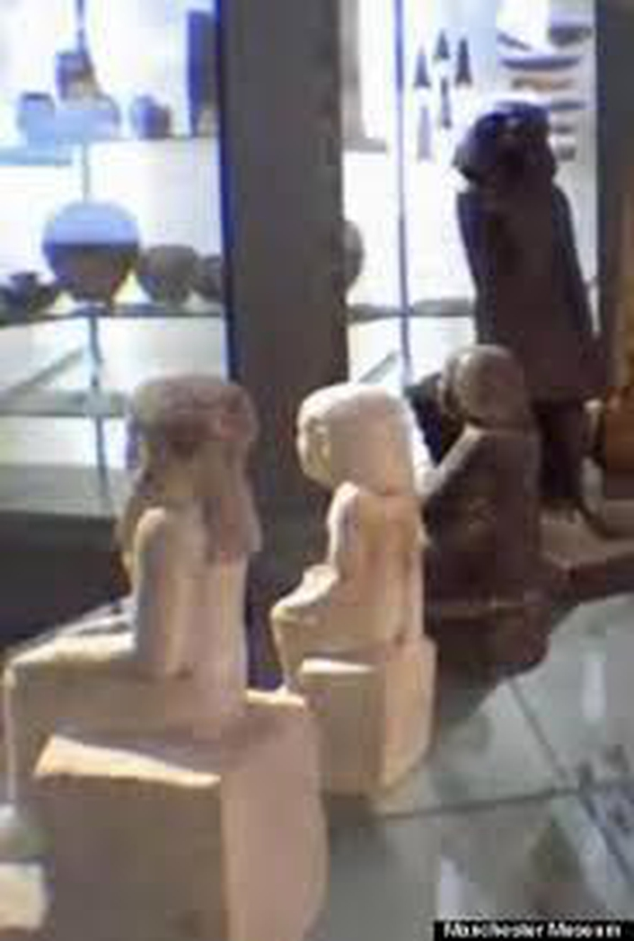 Ancient Egyptian Statue in Manchester Museum