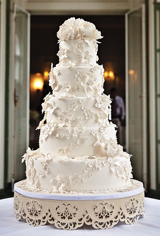 50 Year Old Wedding Cake