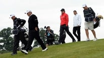 Greg Allen reports on a fantastic first day for the home-based players at the Irish Open