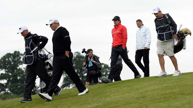Contrasting day for Shane Lowry and Rory McIlroy at Carton House