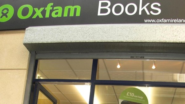 Oxfam Ireland has objected to the exclusion of its shops on Grafton Street