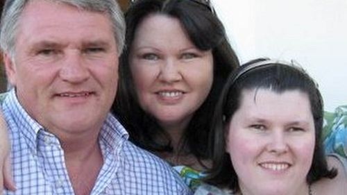 (L-R) Philip, Sheila and Sophie Wood were found dead at the rented apartment in Mijas