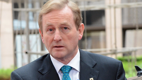 Enda Kenny yesterday called youth unemployment 'an abomination'