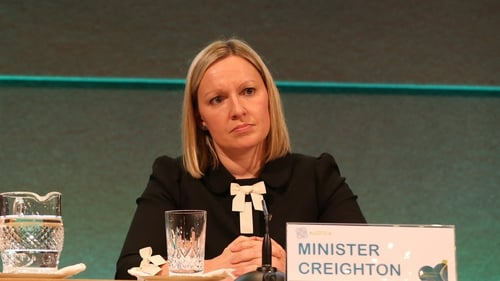 Lucinda Creighton will meet Minister for Health James Reilly on Monday