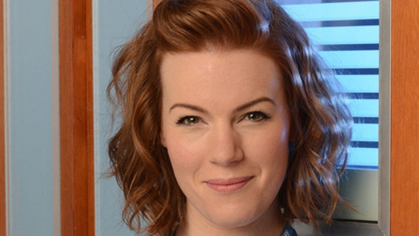 Niamh McGrady has said that she's thrilled to be a regualr cast member on Holby City