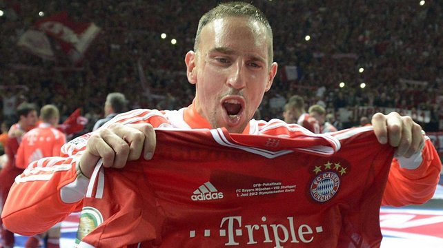 Franck Ribery has joined Ronaldo & Messi on this year's shortlist