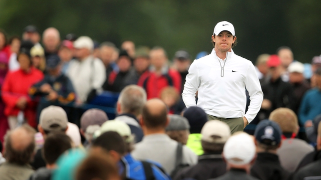 Level par round not enough to make the Irish Open cut