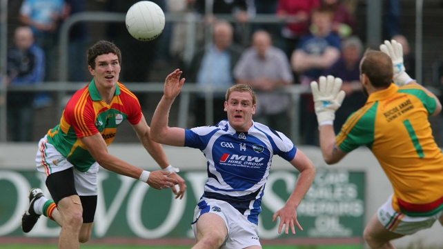 Carlow started well but Laois got in for goals at crucial times to run out easy winners