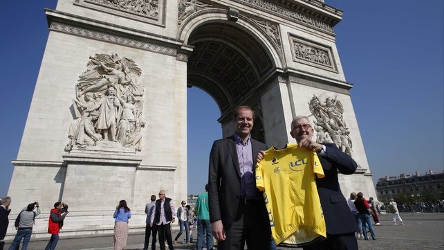 "Christian Prudhomme (l): ""I already said that we knew this was a horrific period for cycling."""