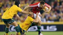 Tony Ward felt that the Lions lacked an overall plan in their effort to win the second Test against Australia.