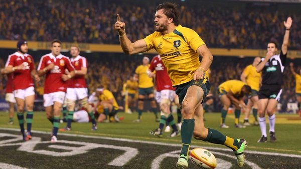 Adam Ashley-Cooper scored the only try of the game with four minutes to play