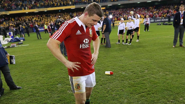 Brian O'Driscoll will play no part in the final Test