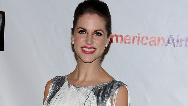 Amy Huberman seems to be having fun in Oz