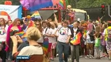 Thousands attend Gay Pride parade