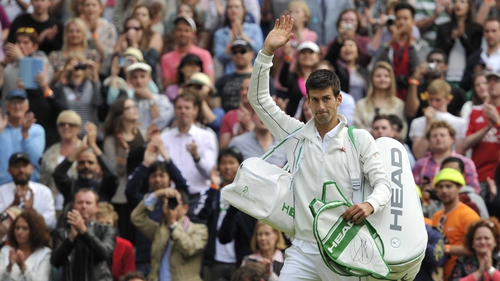 Novak Djokovic: 'I managed to read his serve. Everything went well'