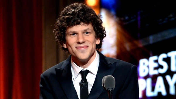 Jesse Eisenberg leads the cast of the movie that's based on a Dostoevsky novella