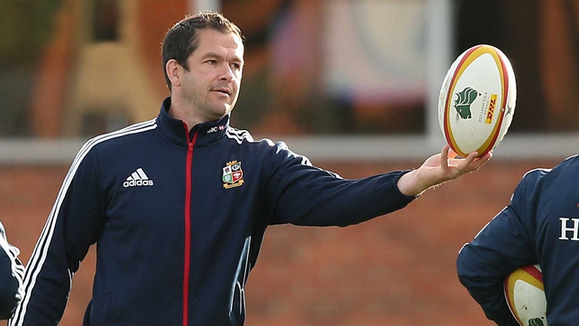 "Andy Farrell: ""We were lucky to get away with a win in the first game, and in the second game we could have won."""