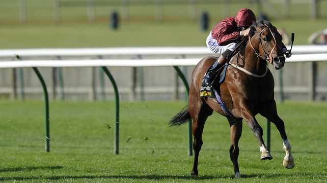 Havana Gold, seen here winning at Newmarket, was produced late to win the Group 1 Prix Jean Prat